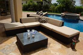 contemporary outdoor furniture arrangement ideas with patio sectional swimming pool with diving boards with patio
