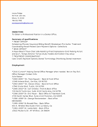 Sample Resume For Office Manager In Dental Office Inspirationa 7