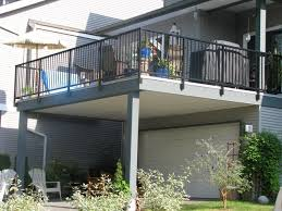elevated concrete deck designs cedarcreekdecks s building raised concrete deck