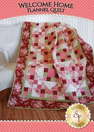 Welcome Home Flannel Quilt Kit | Flannel quilts, Fabrics and Patterns & Welcome Home Flannel Quilt Kit Adamdwight.com