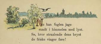 the essay is of a critical appreciation of an unseen poem taken  english bird in flight and first stanza of a poem for children norsk