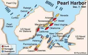 Image result for numerous ships were sunk or damaged hawaii attack.word