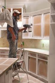 paint cabinets whiteMy Kitchen Magician  Painting cabinets Paintings and Kitchens