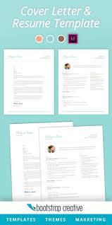 Resume Template Indesign Free Create Indesign Resume Template Download Resumecv Premium Resumes 98