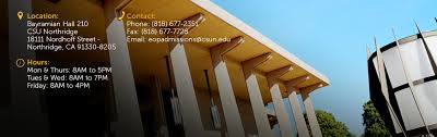 Eop Criteria California State University Northridge