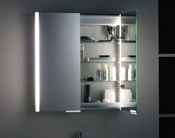 unique bathroom mirror cabinet with lights and shaver socket