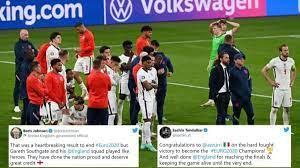 رد فعل العالم عندما فازت إيطاليا على إنجلترا للفوز ببطولة أوروبا UEFA 2020