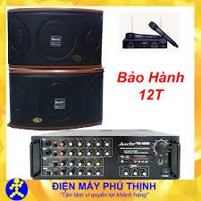 Dàn karaoke hát hay dàn âm thanh gia đình amply Avector 8000 và loa Novio  pt25t - Mua amply karaoke | Loa karaoke gia đình | Bếp gas