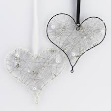 black and ivory hanging wall decorations