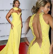 makeup for yellow dress beyonce