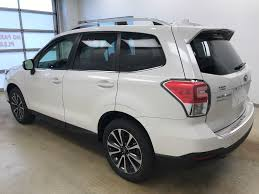 2018 subaru forester white. unique subaru whitecrystal white pearl 2018 subaru forester left side photo in  lethbridge ab and subaru forester white n