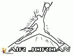Air Jordan Coloring Pages Coloring Home