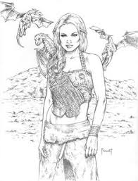 dragon khaleesi game of thrones find this pin and more on coloring book
