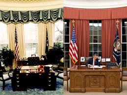 west wing office space layout circa 1990. Oval Office Comparison West Wing Space Layout Circa 1990