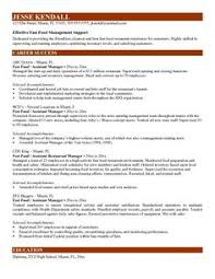 Fast Food Worker Resume Fast Food Worker Resume Sample Fast Food Worker Resume Sample we 18