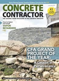 Top Cast Retarder Chart Concrete Contractor June July 2019 By Forconstructionpros