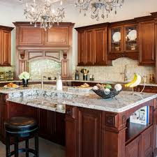 L Kitchen Remodeling Mahogany Cabinets In Scottsdale Az