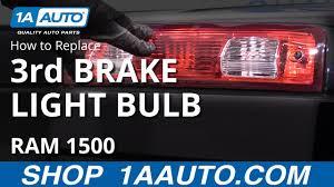 Third Brake Light Repair How To Replace 3rd Brake Light Bulb 09 18 Ram 1500