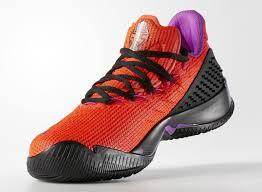 ball shoes. adidas ball 365 low solar red/black-shock purple (4) shoes