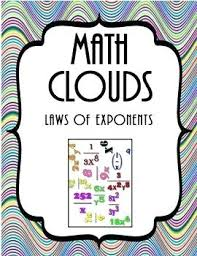 math laws what is a exponent math in this free activity students will simplify