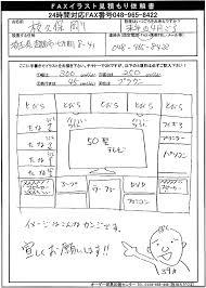 faxでのお見積り無料依頼 オーダー家具のエダクボ 東京