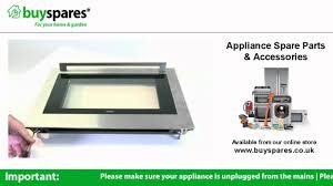 how to remove the glass from an oven door atag ox6011kuu
