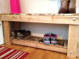 shoe storage bench plans storage benches pallet shoe rack plans bench ideas to suit diffe tastes