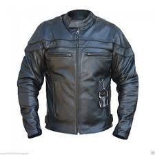 bikers gear the sturgis crusier ce 1621 1 pu removable armour cowhide leather motorcycle jacket