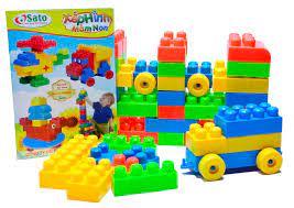 SIÊU RẺ] Bộ đồ chơi xếp hình mầm non Sato 32 chi tiết, Giá siêu rẻ 74,000đ!  Mua liền tay! - SaleZone Store