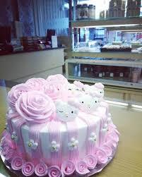 Hello Kitty Type 2 Custom Birthday Cake Made By Strawberry Delight