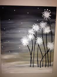19 easy canvas painting ideas start with primary tones and play with light and shadows