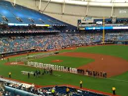 Rays Seating Chart With Rows Tropicana Field Section 216 Home Of Tampa Bay Rays