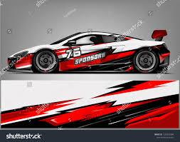 branding design, for custom sport racing car - Vector | Race cars, Sports  car racing, Car wrap design