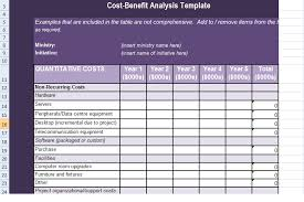 excel financial analysis template get cost benefit analysis template in excel excel project