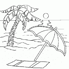 Small Picture beach coloring pages for adults beach coloring pages for adults