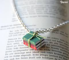 book necklace diy for the book lover