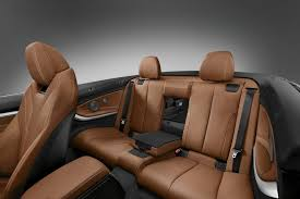 Photo of 4-series rear seat folded down - BMW 4-Series Forums