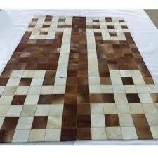 brown cowhide patchwork rug natural cow hair carpets in rug from cowhide patchwork rug cowhide patchwork