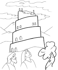 Coloring Page Of The Story Of Nehemiah Rebuilding The Wall
