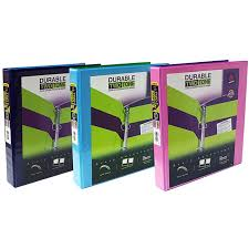 Avery Durable Two Tone 3 Ring Binder Pack Of 16