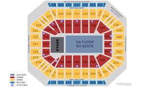 Dcu Center Seating Chart For Concerts High Quality Dcu Center Virtual Seating Giant Center Seating