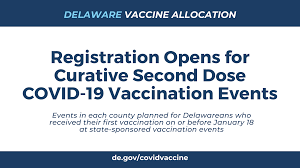 All vaccines are safe , effective and save sign up to get notified when each phase is announced and when there are timeline changes. Today Registration Opens For Curative Second Dose Covid 19 Vaccination Events State Of Delaware News