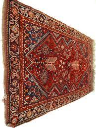 shiraz 166 x 105 cm persian carpet 100 wool clean