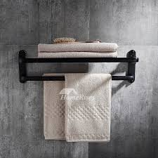 bronze towel rack. Fine Towel On Bronze Towel Rack HomeRises