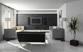 White Living Room Design Modern Interior Design Living Room Black And White House Decor