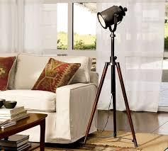 pottery barn desk lamps floor lamp discontinued crate and barrel photographer style marvelous photographers tripod lampss large size of reading office