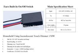 westek touch dimmer wiring diagram Westek Touchtronic 6503H Wiring-Diagram Westek Touch Dimmer Wiring Diagram #36