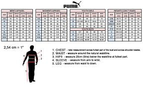 Puma Shoe Size Chart Men Puma Size Chart Sale Up To 44 Discounts