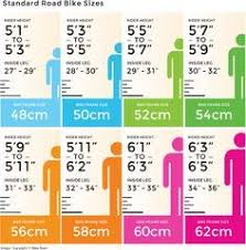 54cm Road Bike Size Chart 14 Best Mtb Images Road Racer Bike Biking Cycling Tips