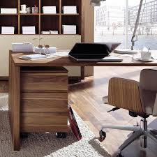 Desk Design Ideas, Nature Modern Beautiful Office Desk Minimalist Cool  Interior Look Wooden Stained Varnished